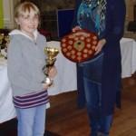 Jessica Freeman, Scottish Girls Champion.