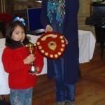 Carolina Espinosa Cancino, Scottish Girls Champion.