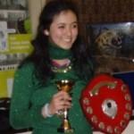 Monica Espinosa Cancino, Scottish Girls Champion.