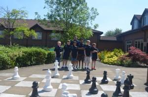 Stokes team - Dietah Connolly Sams, Jake Sanger, Aditya Hegde, coach Mark Sanger, Kalyan Kante, Connor Sibbald and James Hartman.